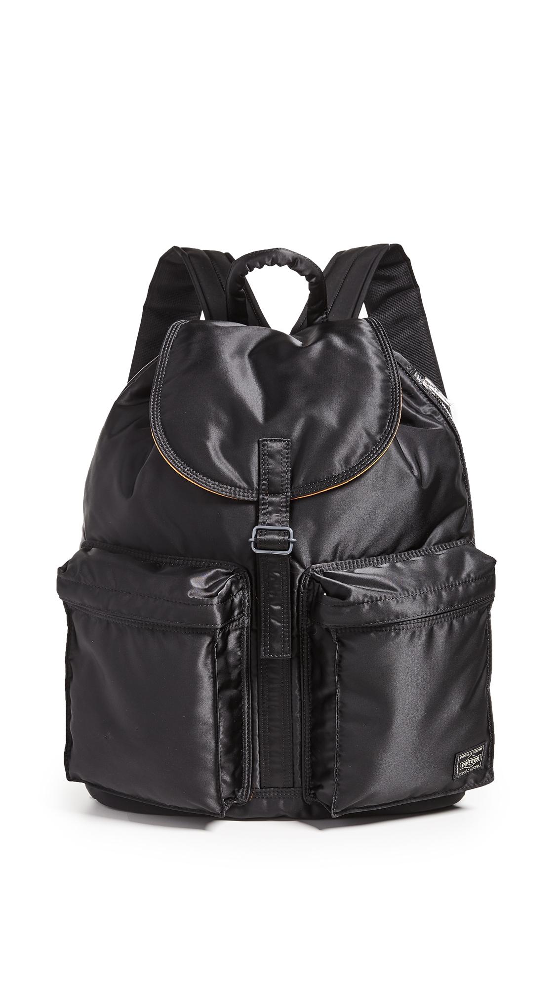 PORTER Tanker Rucksack Backpack in Black