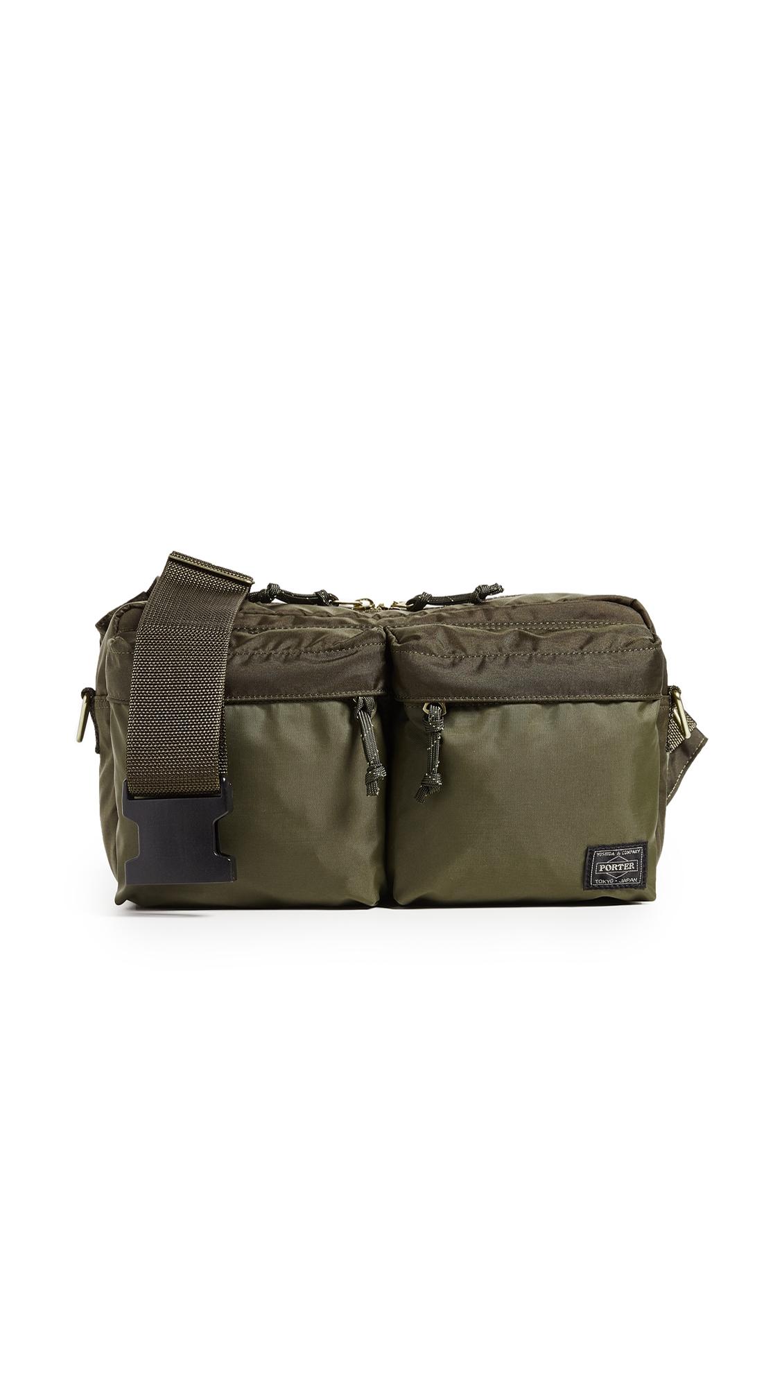 PORTER Force 2 Way Waist Bag in Olive