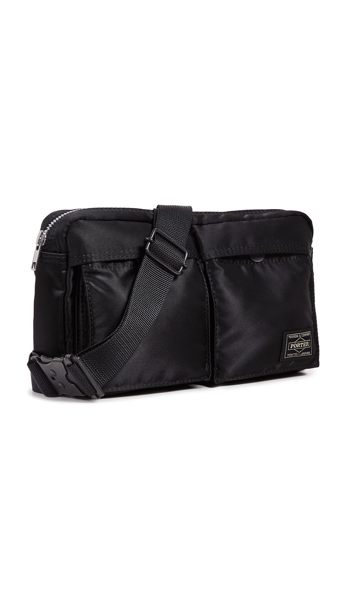 PORTER Tanker Waist Bag S in Black