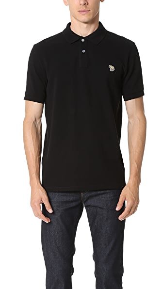 PS by Paul Smith Regular Fit Zebra Polo