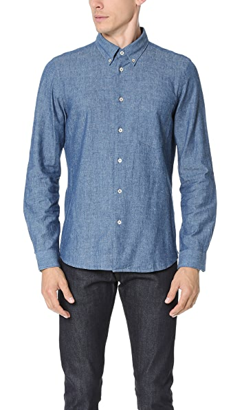PS by Paul Smith Tailored Fit Pocket Shirt