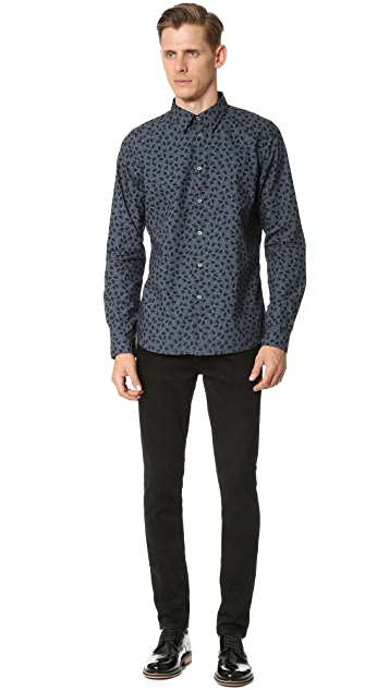 PS by Paul Smith Slim Fit Faded Heart Shirt
