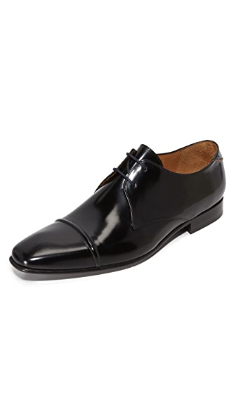 PS by Paul Smith Robin Black High Shine Derby Shoes