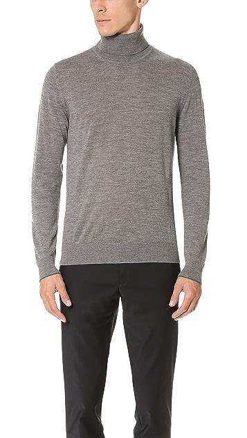 PS by Paul Smith Merino Turtleneck Knit Sweater