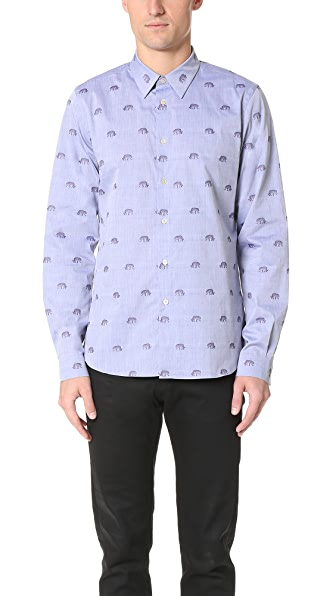 PS by Paul Smith Tailored Fit Printed Shirt