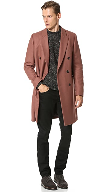 PS by Paul Smith Double Breasted Tailored Coat