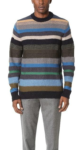 PS by Paul Smith Stripe Knit Sweater