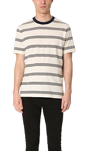 PS by Paul Smith Regular Fit SS Striped Tee