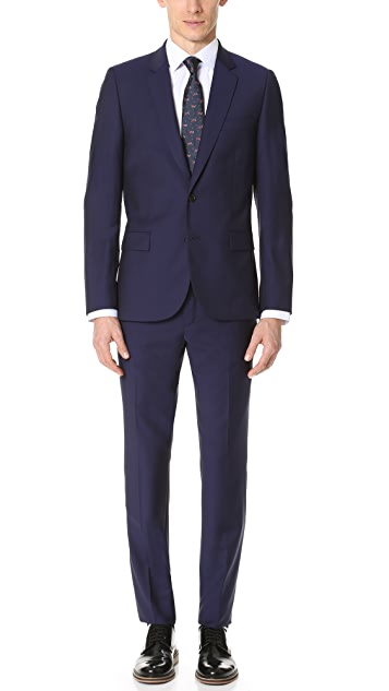 PS by Paul Smith Mid Fit Wool Nested Suit