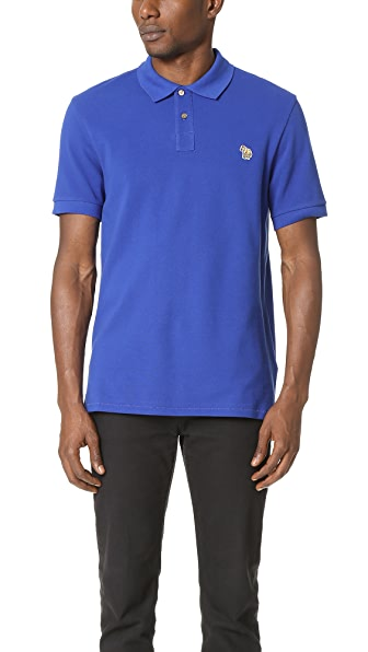 PS by Paul Smith Regular Fit Polo with Zebra Badge