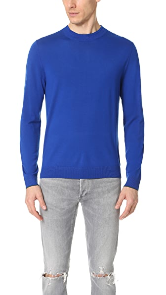PS by Paul Smith Merino Wool Crew Neck Sweater