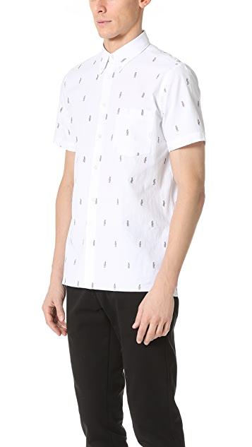 PS by Paul Smith Short Sleeve Parrot Shirt