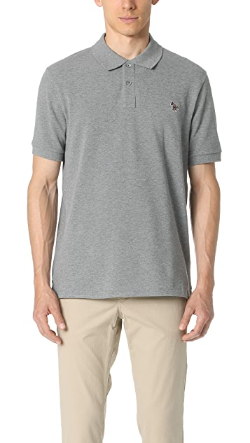 PS by Paul Smith Regular Fit Zebra Polo Shirt
