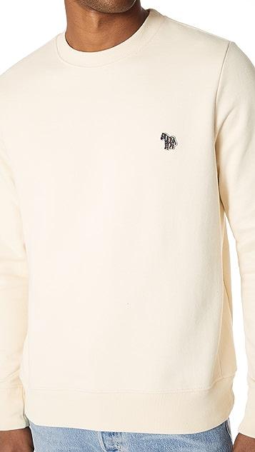 PS by Paul Smith Crew Neck Zebra Sweatshirt