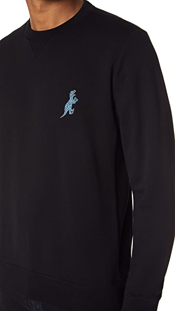 PS by Paul Smith Crew Neck Dino Sweatshirt