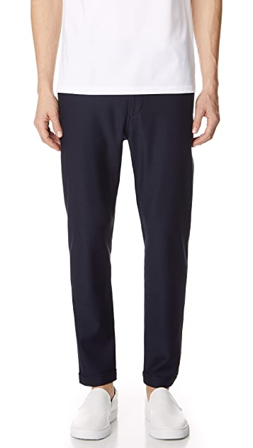 PS by Paul Smith Drawstring Trousers in Navy Blue