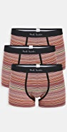 PS Paul Smith Multi Stripe 3 Pack Trunks