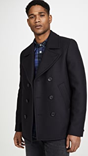PS Paul Smith Reefer Peacoat