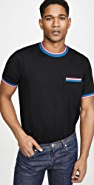 PS Paul Smith Polo With Multi Stripes