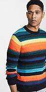PS Paul Smith Bright Stripe Cotton Sweater