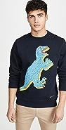 PS Paul Smith Dino Print Sweatshirt