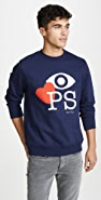 PS Paul Smith L/S Sweatshirt Eye Love