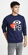 PS Paul Smith L/S Sweatshirt Eye Love