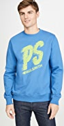 PS Paul Smith Teal Green Faster Sweatshirt