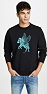 PS Paul Smith Flying Zebra Sweatshirt