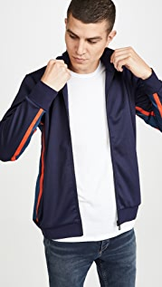 PS Paul Smith Mens Zip Track Top