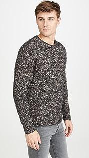 PS Paul Smith Bouclé Pullover Crew Neck Sweater