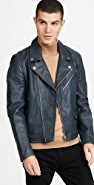 PS Paul Smith Mens Biker Jacket