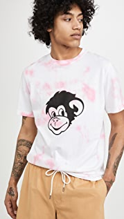 PS Paul Smith Tie Dye Monkey T-Shirt