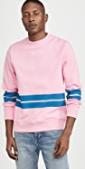 PS Paul Smith Bold Stripe Crew Neck Sweatshirt