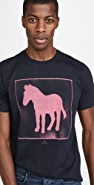PS Paul Smith Spray Paint Zebra T-Shirt