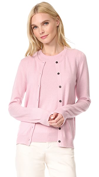 Pringle of Scotland Long Sleeve Cashmere Cardigan