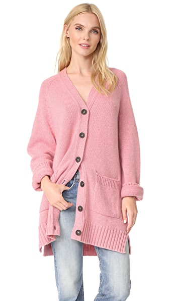 Pringle of Scotland V Neck Cashmere Cardigan