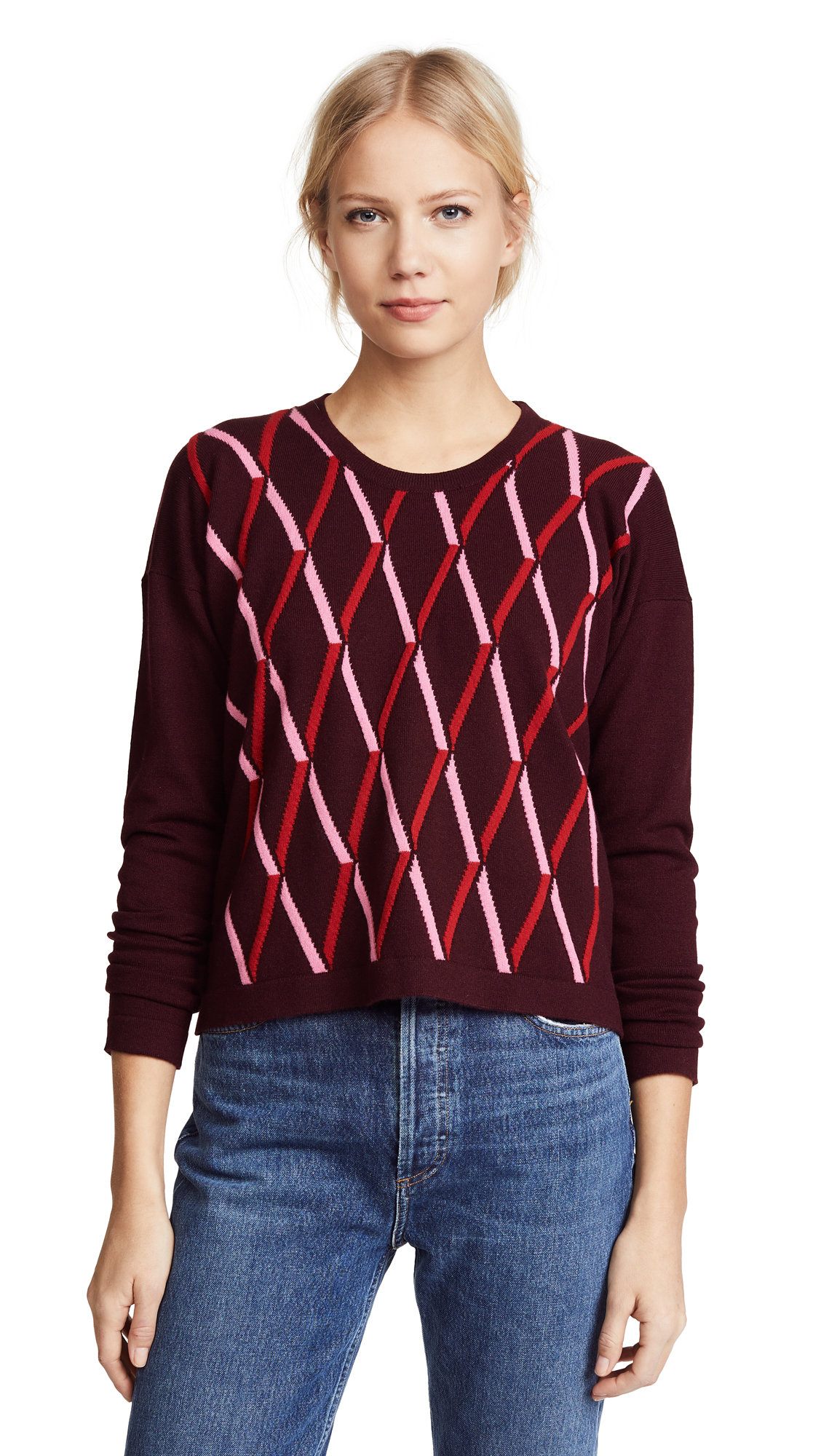 Pringle of Scotland Argyle Cashmere Sweater