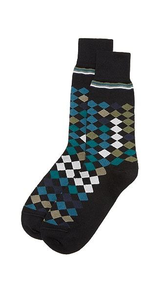 Paul Smith Falling Diamond Socks