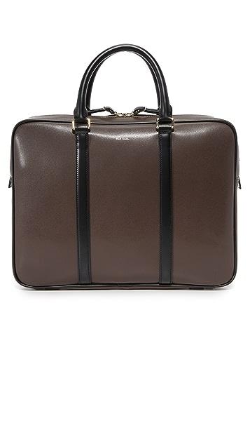 Paul Smith Chocolate Leather Portfolio