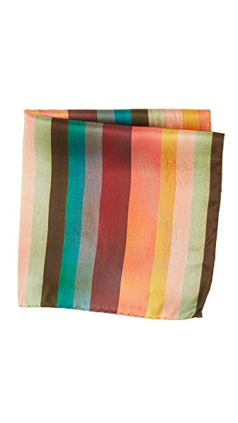 Paul Smith Refresher Stripe Pocket Square