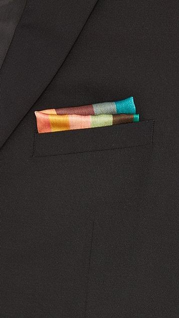 Paul Smith Refresher Stripe Pocket Square
