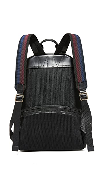 Paul Smith City Webbing Leather Backpack