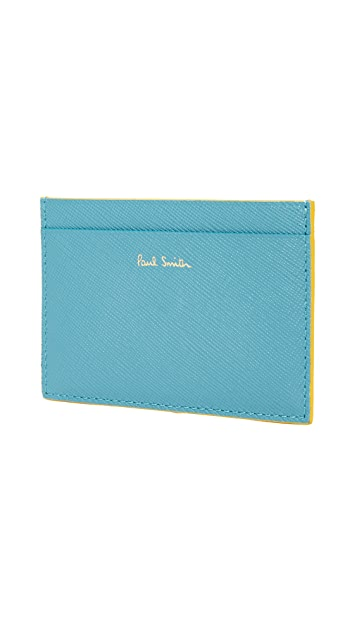 Paul Smith Saffiano Credit Card Holder