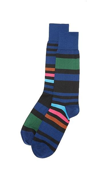 Paul Smith Odd Block Stripe Socks