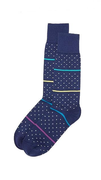 Paul Smith Mixed Polka Socks