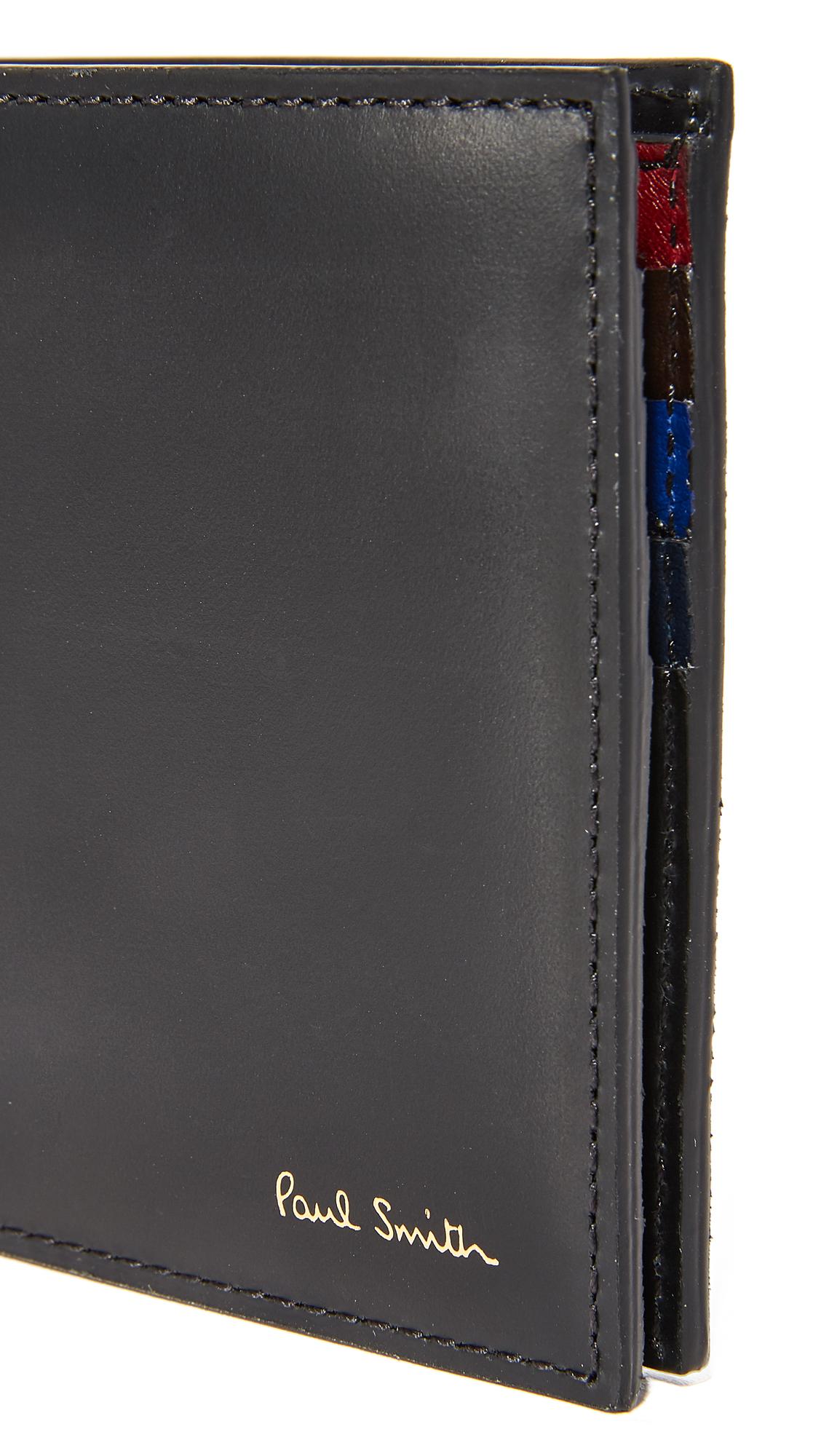 PAUL SMITH Interior Color Band Billfold Wallet