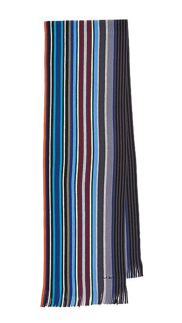 Paul Smith Lacey Stripe Scarf