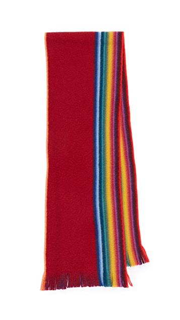 Paul Smith Rainbow Edge Scarf