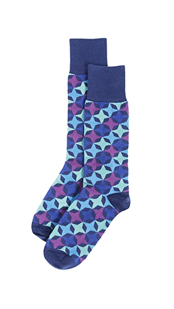 Paul Smith Jester Block Socks